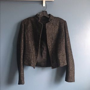 Price Dropped!  NWT Theory tweed cropped jacket